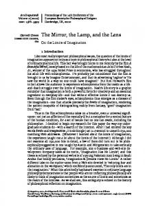 The Mirror, the Lamp, and the Lens