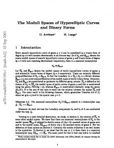 The Moduli Spaces of Hyperelliptic Curves and Binary Forms