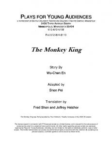 The Monkey King - Plays for Young Audiences