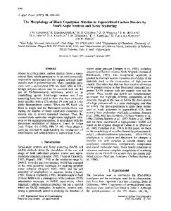 The Morphology of Block Copolymer Micelles in ... - IUCr Journals
