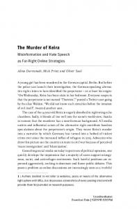 The Murder of Keira