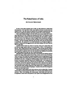 The Naked Saints of India