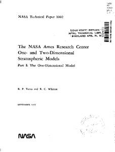 The NASA Ames research center One - NASA Technical Reports ...