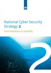 The national cyber security strategy - enisa
