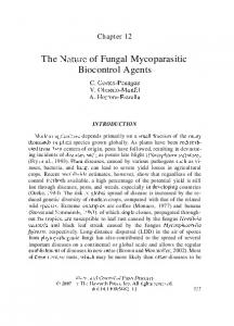 The Nature of Fungal Mycoparasitic Biocontrol Agents