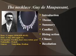 necklace guy maupassant