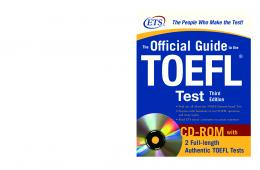 The Official Guide to the TOEFL Test - Digital River, Inc.