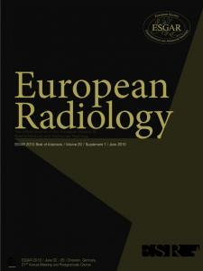 The official journal of the European Society of ... - Springer Link