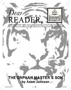 THE ORPHAN MASTER'S SON - Square Books