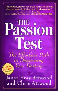 The Passion Test - Youblisher