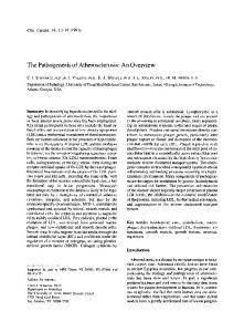 The pathogenesis of atherosclerosis: An overview - Wiley Online Library