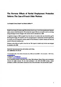 The Perverse Effects of Partial Employment Protection Reform - Crest