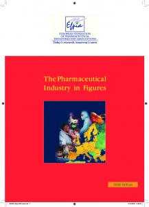 The Pharmaceutical Industry in Figures