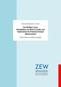 The Phillips Curve - ZEW