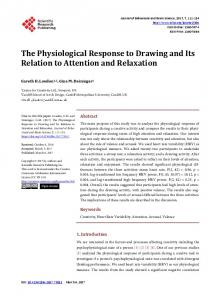 The Physiological Response to Drawing and Its Relation to Attention ...