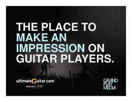 THE PLACE TO MAKE AN IMPRESSION ON ... - Grand Play Media