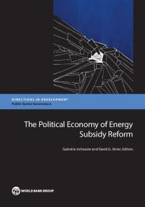 The Political Economy of Energy Subsidy Reform - Open Knowledge ...