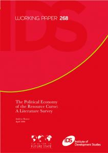 The Political Economy of the Resource Curse - Research for ...