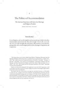 The Politics of Accommodation - Squarespace