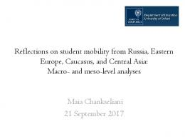The politics of student mobility: What do international student statistics ...