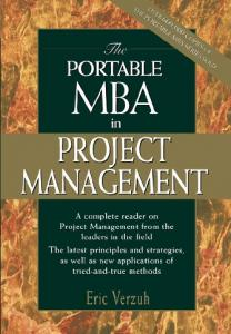 The PORTABLE MBA in PROJECT MANAGEMENT - Weebly