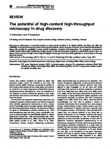 The potential of high-content high-throughput