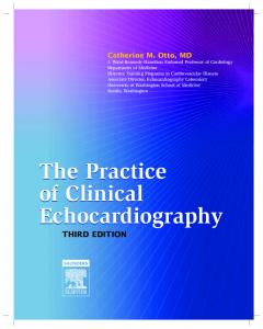 The Practice of Clinical Echocardiography The Practice of Clinical ...