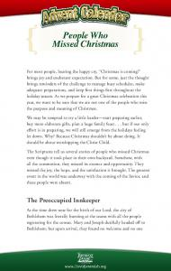 The Preoccupied Innkeeper - Dr. David Jeremiah