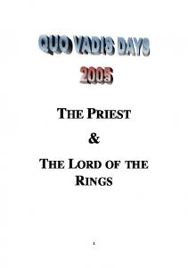 THE PRIEST THE LORD OF THE RINGS