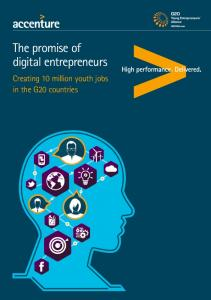The promise of digital entrepreneurs