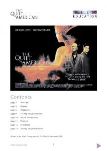 The Quiet American study guide - Film Education