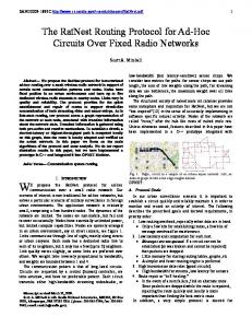 The RatNest Routing Protocol for Ad-Hoc Circuits ... - Semantic Scholar