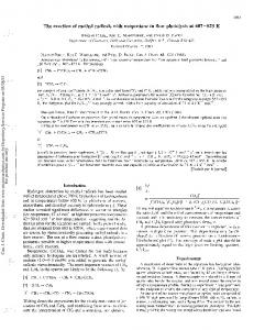 The reaction of methyl radicals with neopentane in