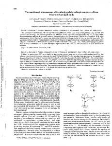 The reactions of nitrosoarenes with cationic