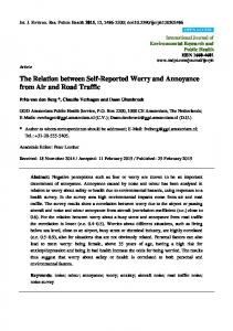 The Relation between Self-Reported Worry and ... - Semantic Scholar