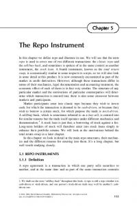 The Repo Instrument - SciTech Connect - Elsevier