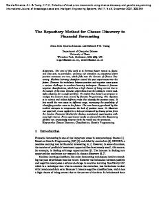 The Repository Method for Chance Discovery in Financial ... - bracil