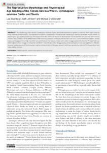 The Reproductive Morphology and Physiological ... - SAGE Journals