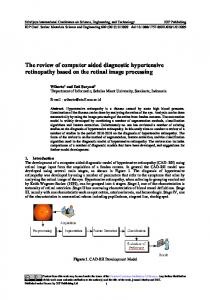 The review of computer aided diagnostic hypertensive ...www.researchgate.net › publication › fulltext › The-revie