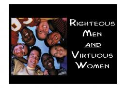 The Righteous Man - gracefiles.org