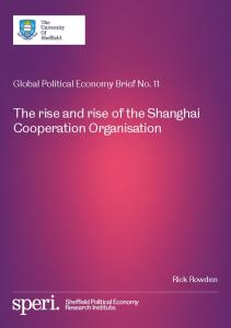 The rise and rise of the Shanghai Cooperation Organisation - SPERI