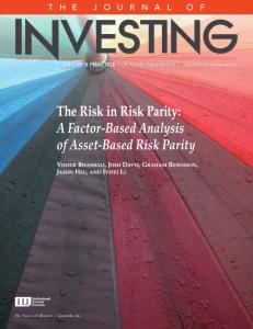 The Risk in Risk Parity