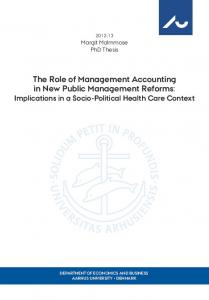 the role of management accounting in new public management ...