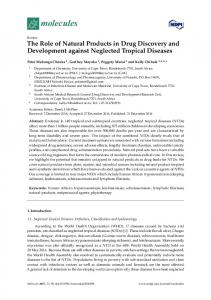 The Role of Natural Products in Drug Discovery and ... - MDPI