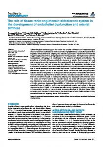 The role of tissue renin-angiotensin-aldosterone system in ... - Frontiers