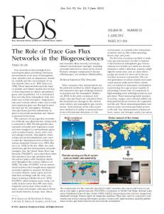 The Role of Trace Gas Flux Networks in the Biogeosciences