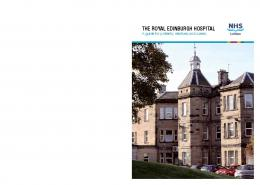 THE ROYAL EDINBURGH HOSPITAL