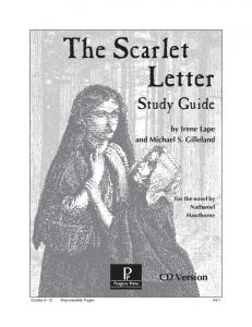 The Scarlet Letter - Rainbow Resource Center