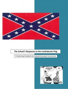 The School's Response to the Confederate Flag