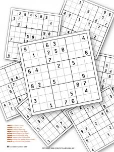The Science behind Sudoku